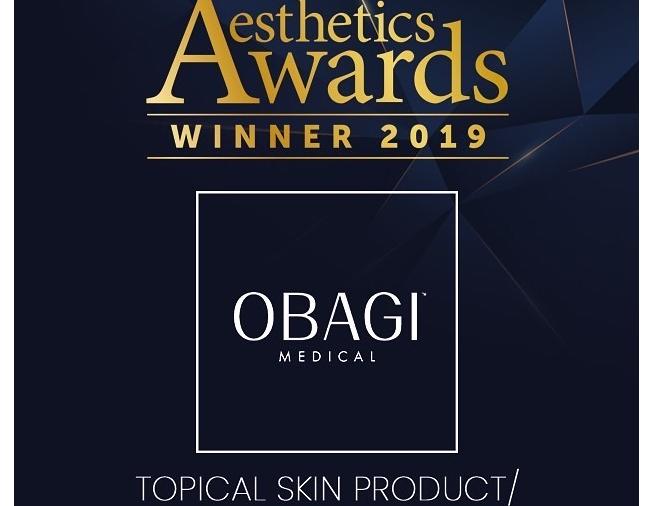 Obagi Medical winnaar van Best Topical Skin Product Range 2019!